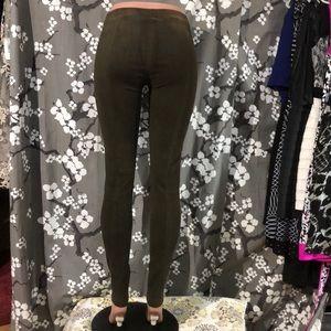 Vince Jeans - NWOT VINCE Stretch Lamb Suede Leather Leggings